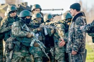 Крым. Оккупанты пришли