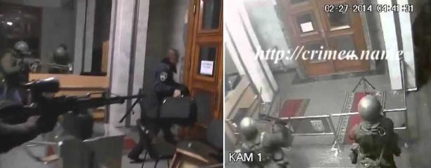 Верховный Совет Крыма захвачен россиянами 1