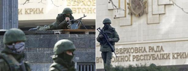 Верховный Совет Крыма захвачен россиянами 2