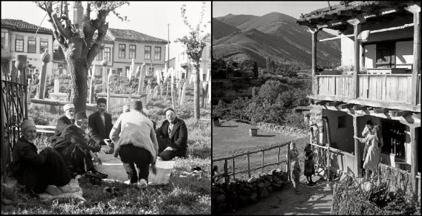 UKRAINE. Crimea. 1943. Muslims on a tatar cementery.   M-UK-KRI-025